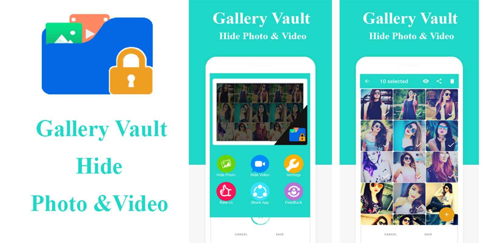 Gallery Vault - Hide Photo Android App Template