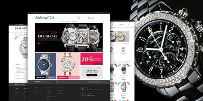 Dark Watch - Responsive PrestaShop Theme