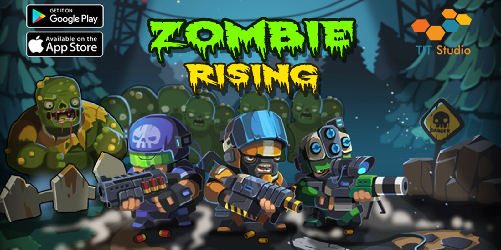 Zombie Rising - Complete Unity Project