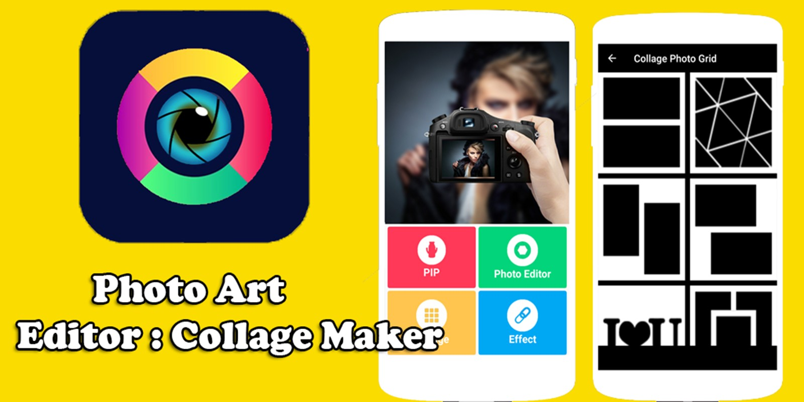 Photo Art - Android Collage Photo Editor