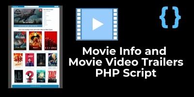 Movie Info PHP Script