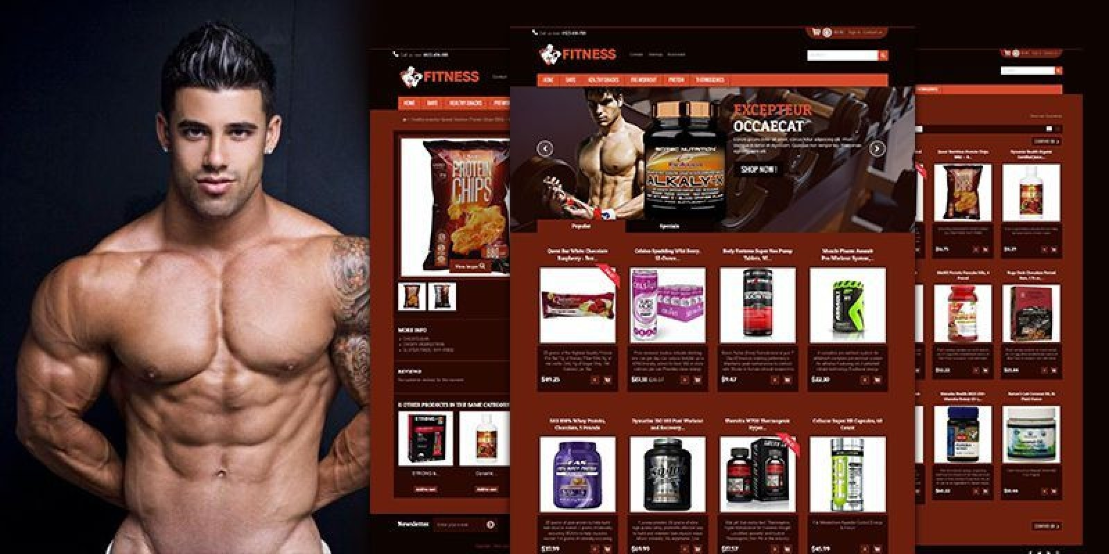 Fitness - PrestaShop Theme
