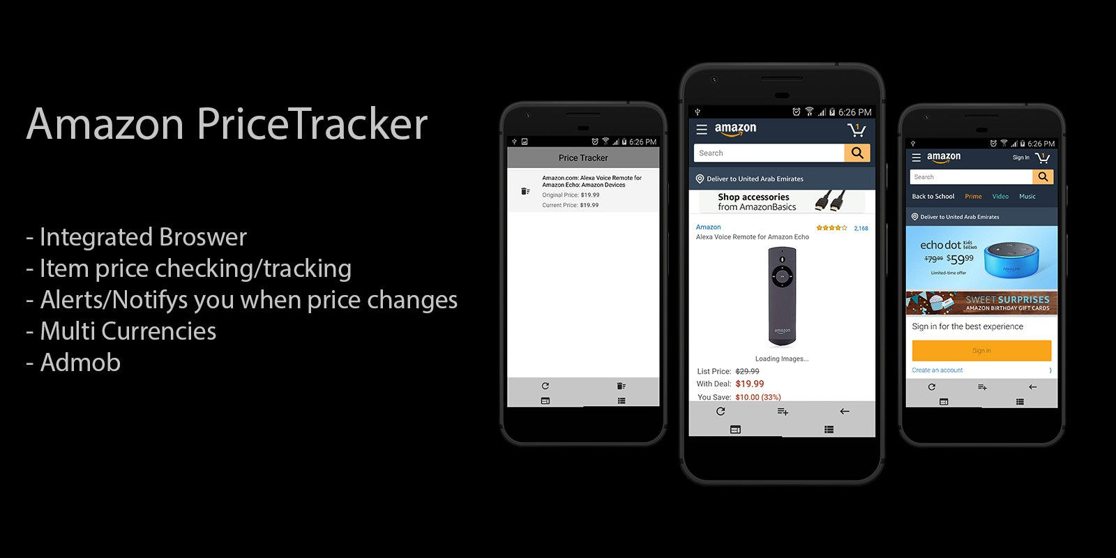 Amazon Price Tracker - Android App Source Code