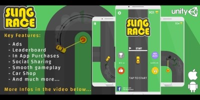 Sling Race - Unity Game Template
