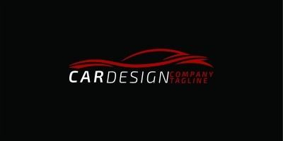 Car Line Logo Design