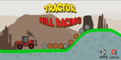 Tractor Hill Racing Unity Game