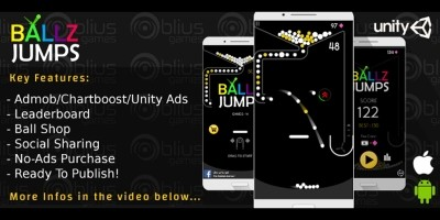 Ballz Jumps - Unity Game Template