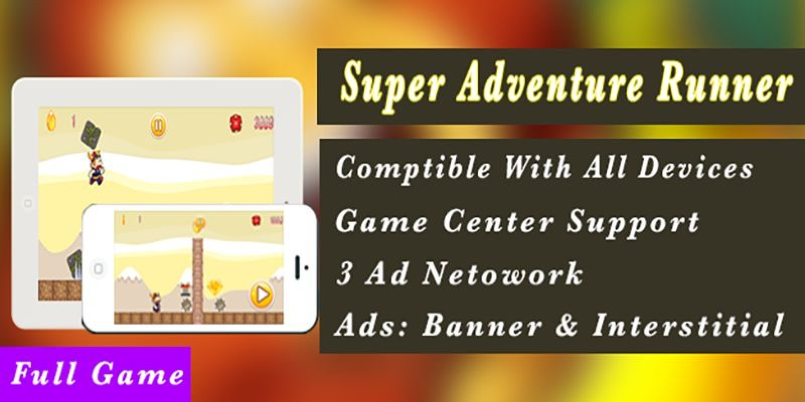 Super Adventure Runner - Android App Code