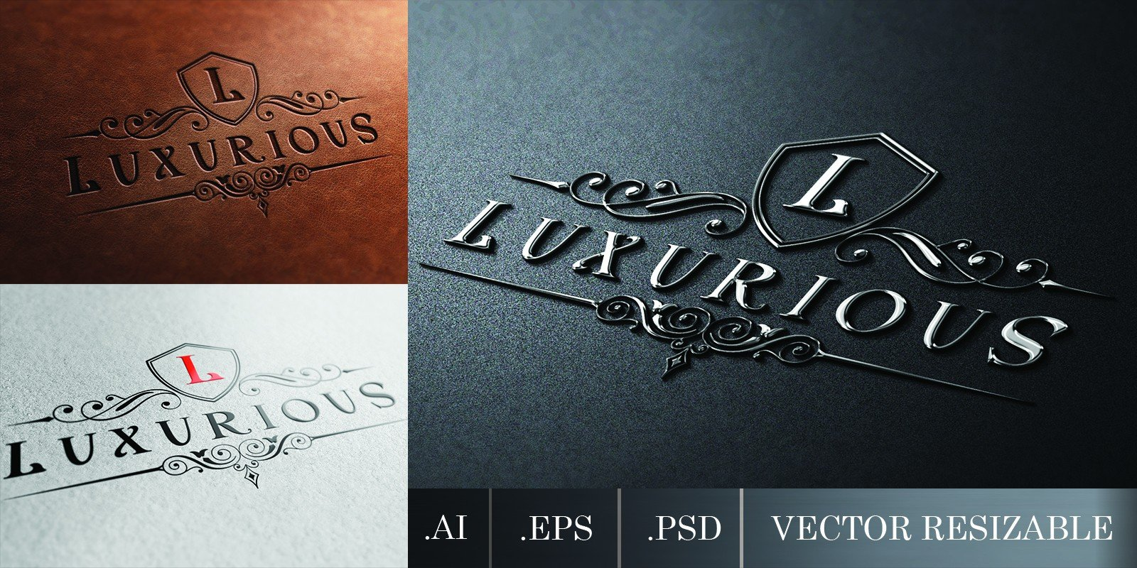 Luxurious Royal Logo Template