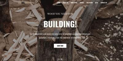 WS Wood - WordPress Theme