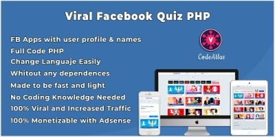 Viral Facebook Quiz Script Full Code