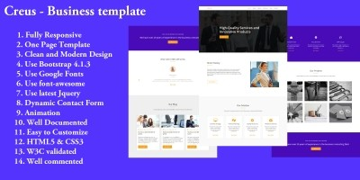 Creus - Business template