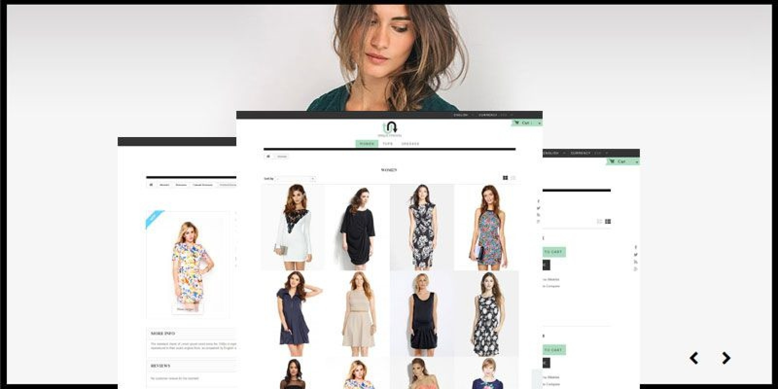 Unique Fashion - PrestaShop Theme