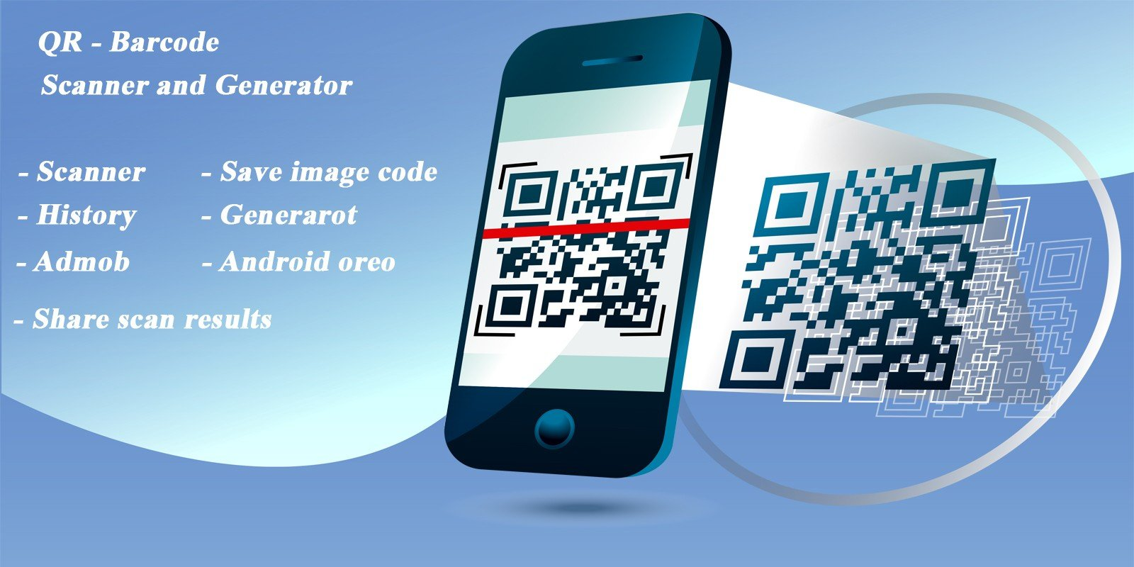 QR Code Scanner - Android Template