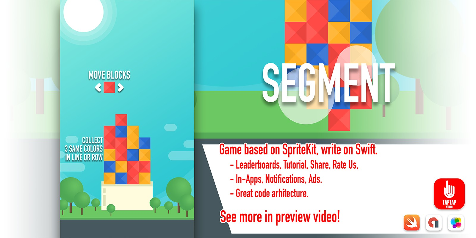 Segment - iOS Game Source Code