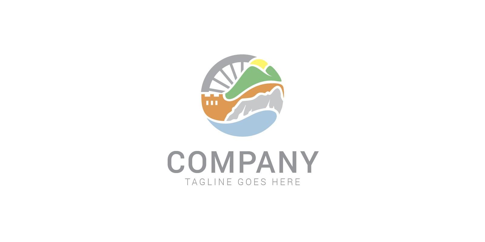 Travel Wheel Logo