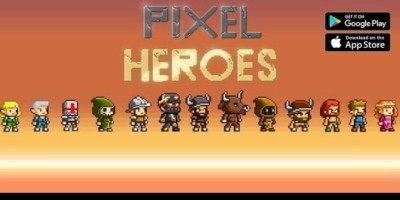 Pixel Heroes – Endless Arcade Runner Buildbox
