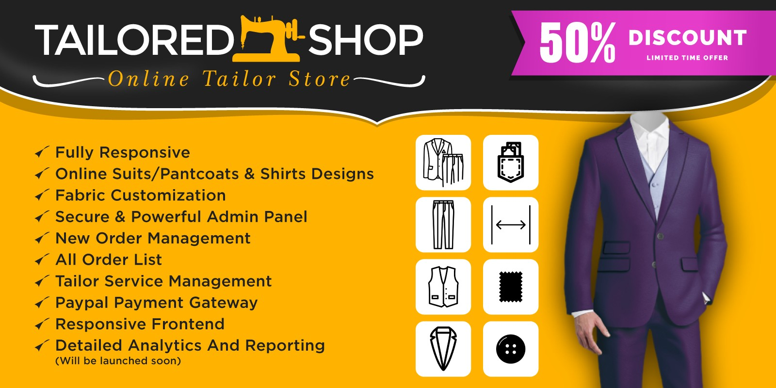 popular style variety styles of 2019 big discount Online Tailored Shop – Online Tailor Store Scrip