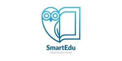 Smart Education Concept Logo