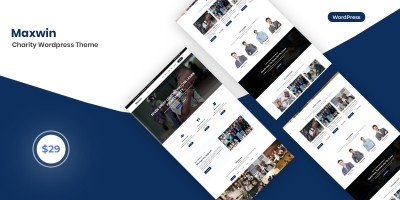 Maxcom - Charity WordPress Theme