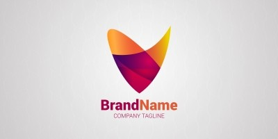 Colourful Gradient Logo