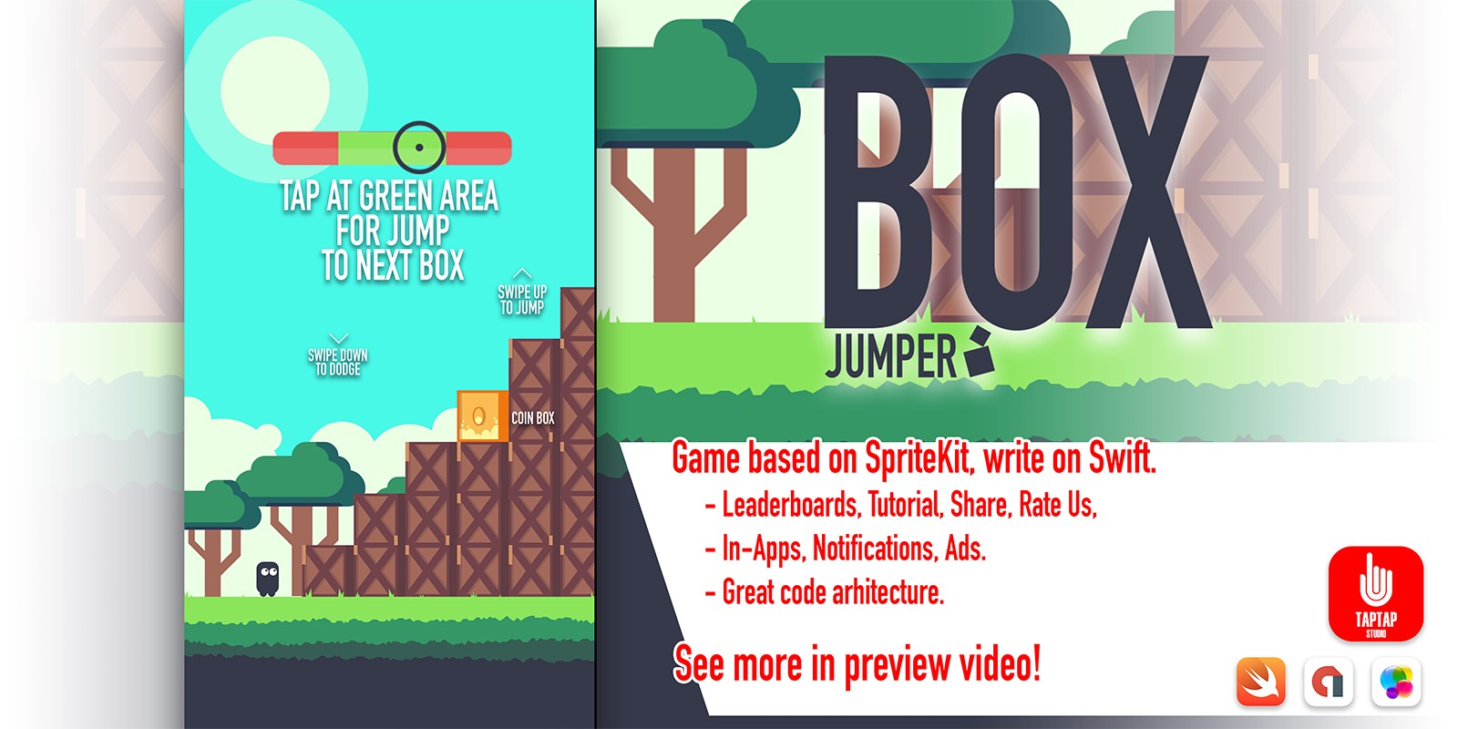 Box Jumper - iOS Source Code
