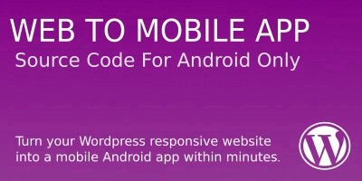 Website To Mobile App Source Code - WordPress