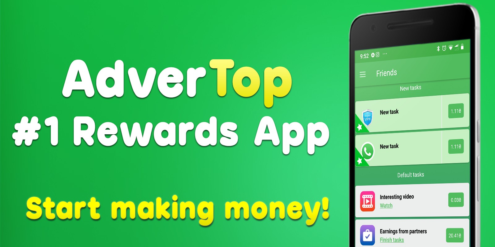 AdverTop - Rewards App Android Source Code