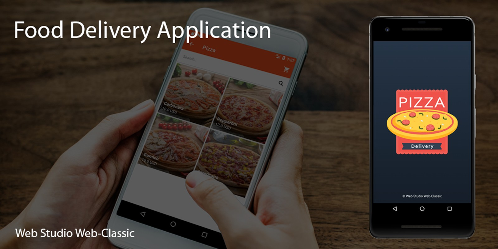 Food Delivery Android App Source Code