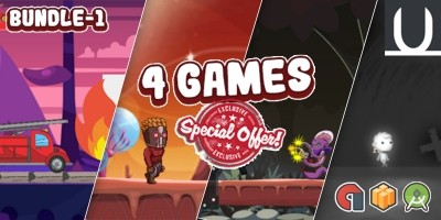 Mega Bundle 4 Buildbox Games Part 1