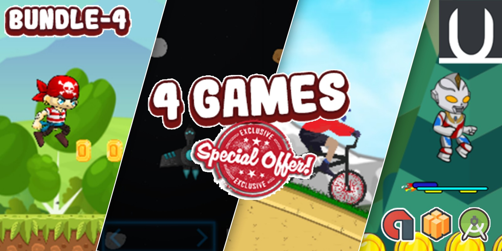 Mega Bundle 4 Buildbox Games Part 4