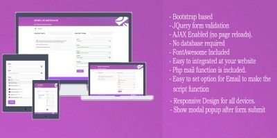 Contact Form AJAX And jQuery