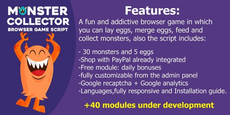 Monster collector script and modules