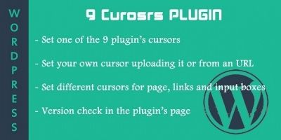 9 Cursors - WordPress Plugin