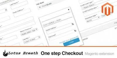 One Step Checkout - Magento Extension