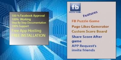 Facebook Puzzle App PHP Script