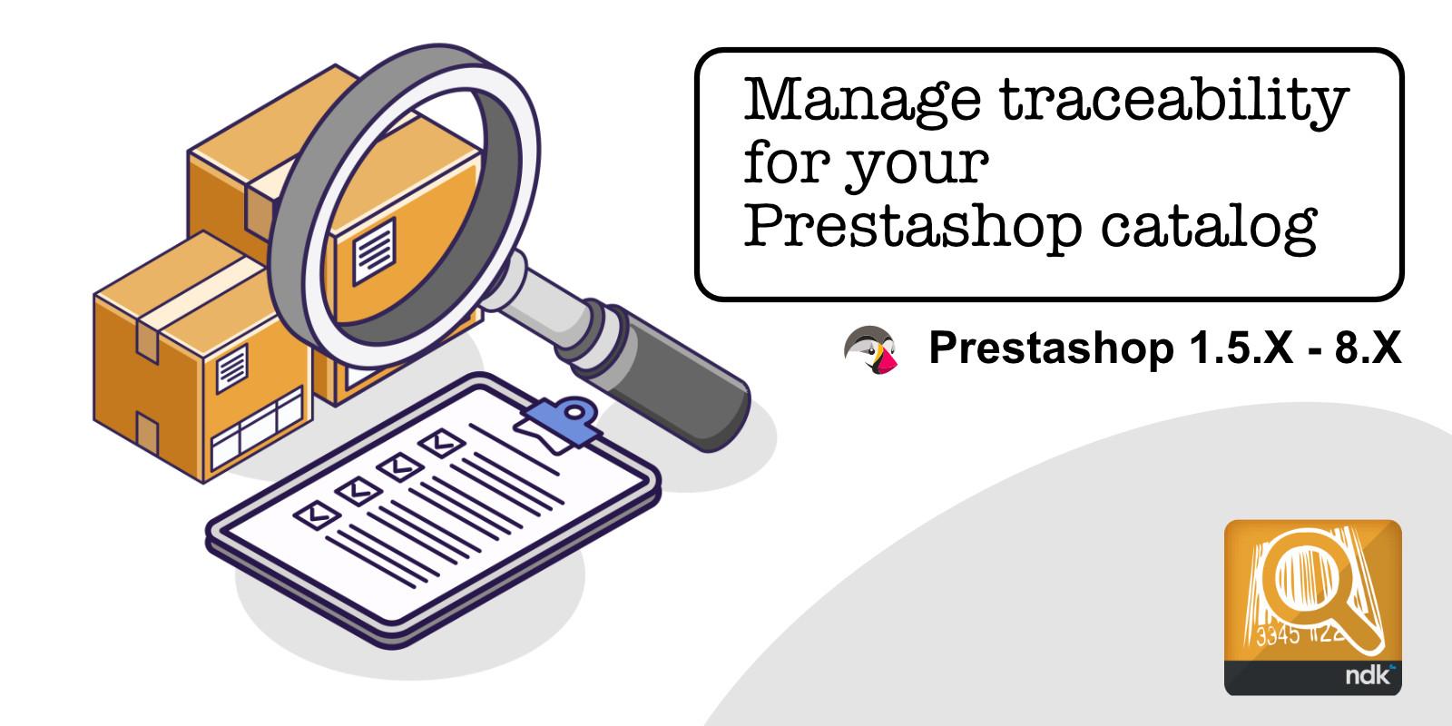 Prestashop Traceability Module