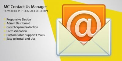 MC Contact Us - PHP Script