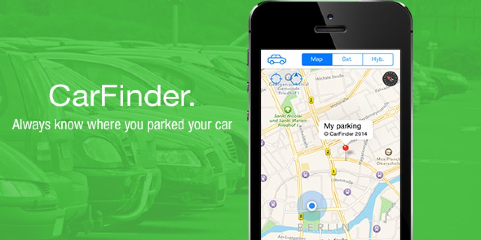 CarFinder iOS App Source Code