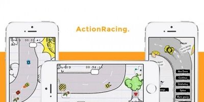 ActionRacing iOS Game Source Code