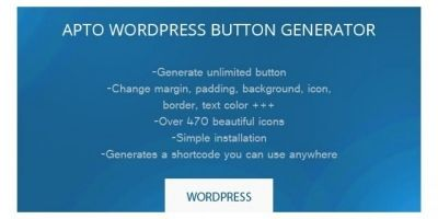 Apto Button Generator - Wordpress Plugin