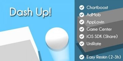 Dash Up - iOS Unity Game Template