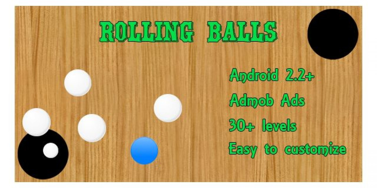 Rolling Balls Game Admob - Android Source Code