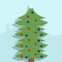 Christmas Tree Tower for Corona SDK