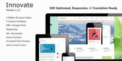 Innovate - Premium Wordpress Theme