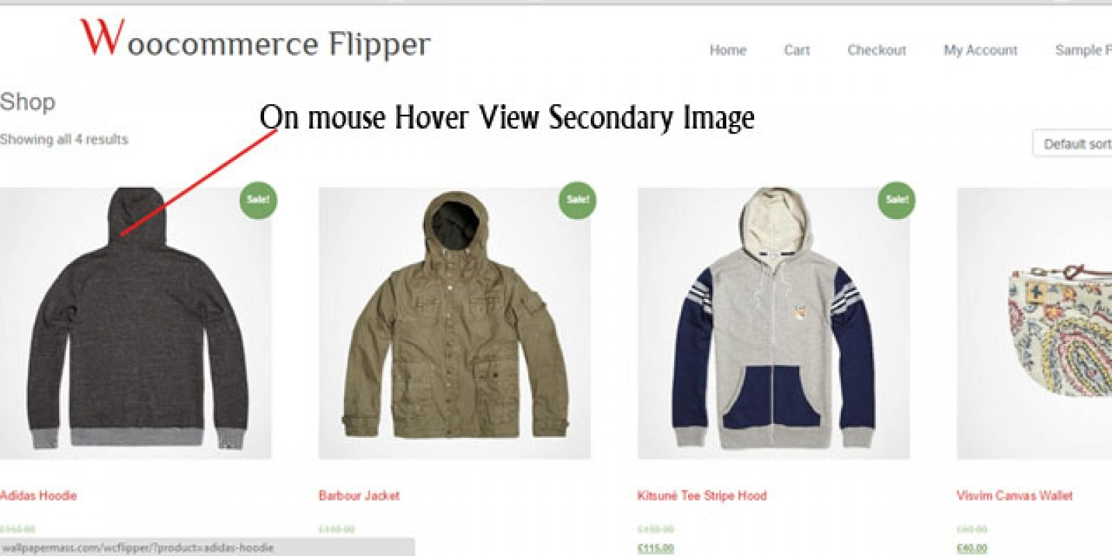 Image Flipper - Wordpress WooCommerce Plugin