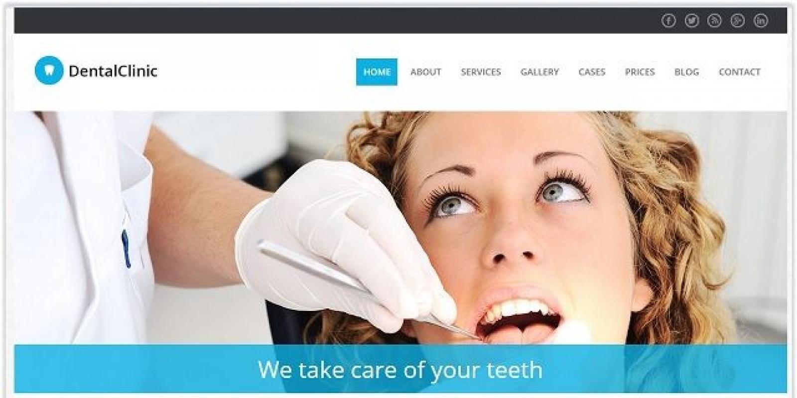 DentalClinic - Medical Wordpress Theme