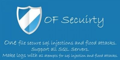 OF Security - SQL Injection & Flood protection PHP