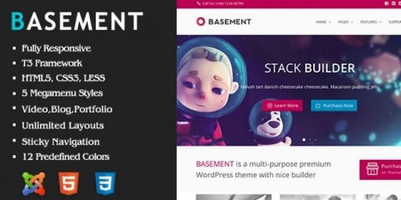 Basement - Responsive Joomla Template