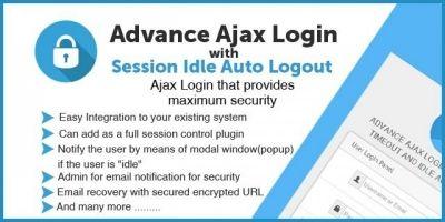 Advance Ajax Login System - PHP Script